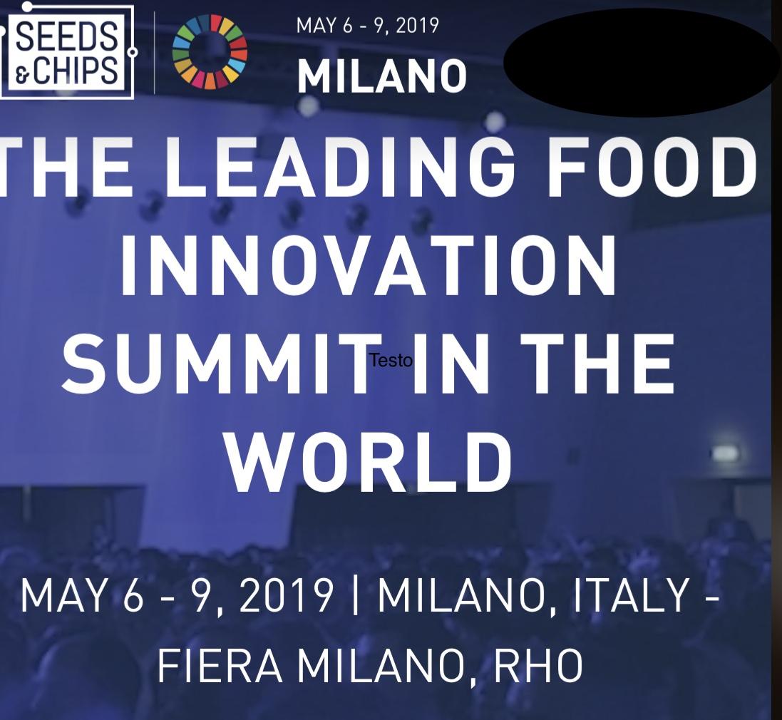 Seeds&Chips, Quest'anno Spazio Alle Nuove Generazioni Del Food Innovation