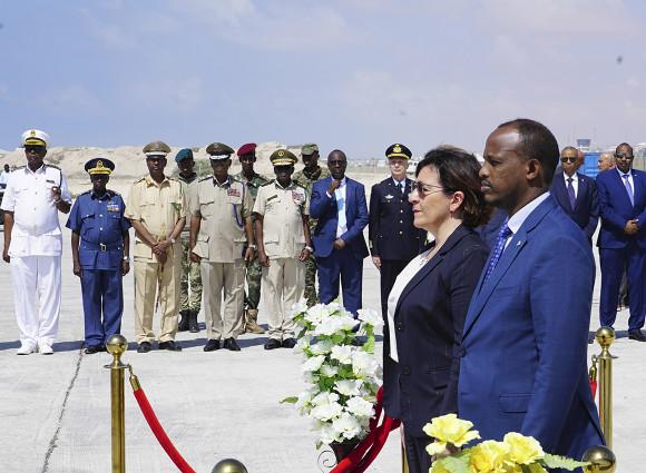Somalia, L'importanza Della Visita Della Ministra Della Difesa Trenta Nel Corno D'Africa
