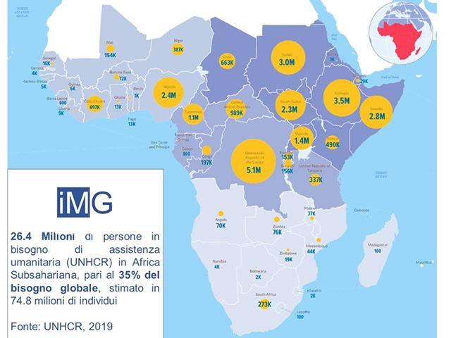 Africa Subsahariana, 26.4 Milioni Di Persone Necessitano Di Assistenza Umanitaria