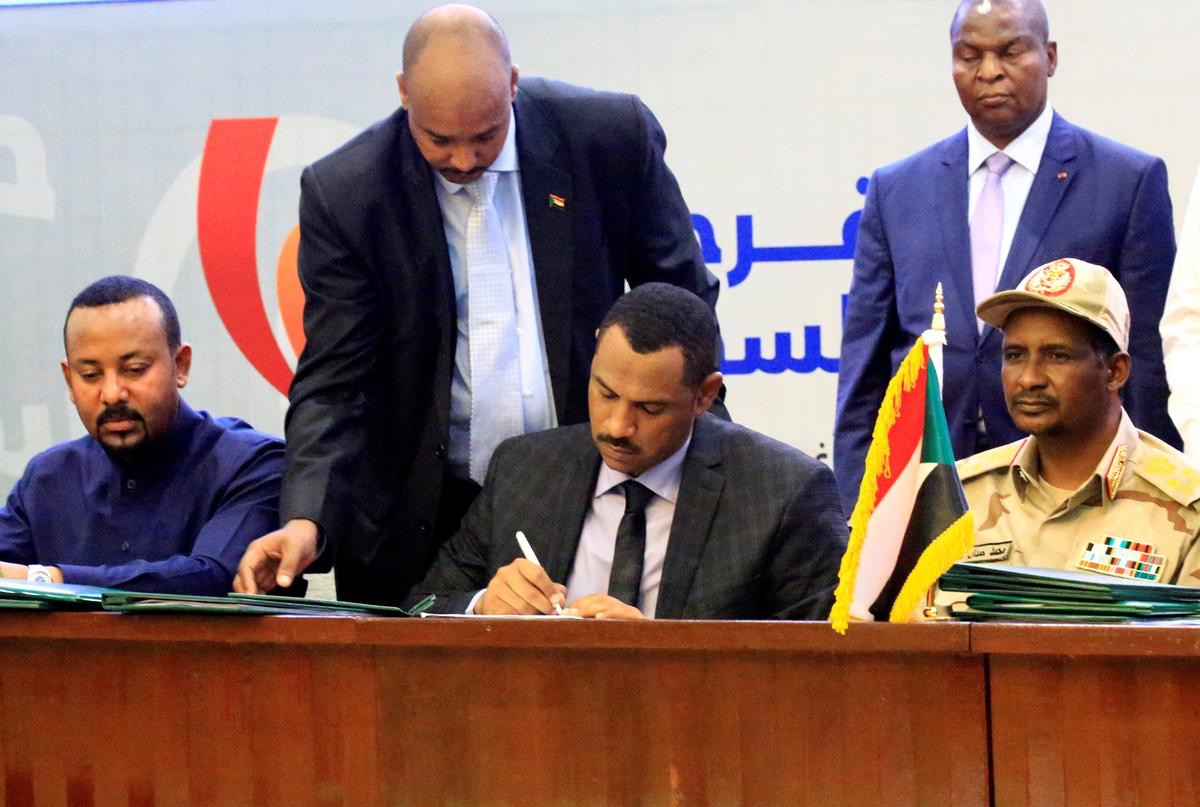 Sudan, Military Government Dissolved. Sovereign Council Formed