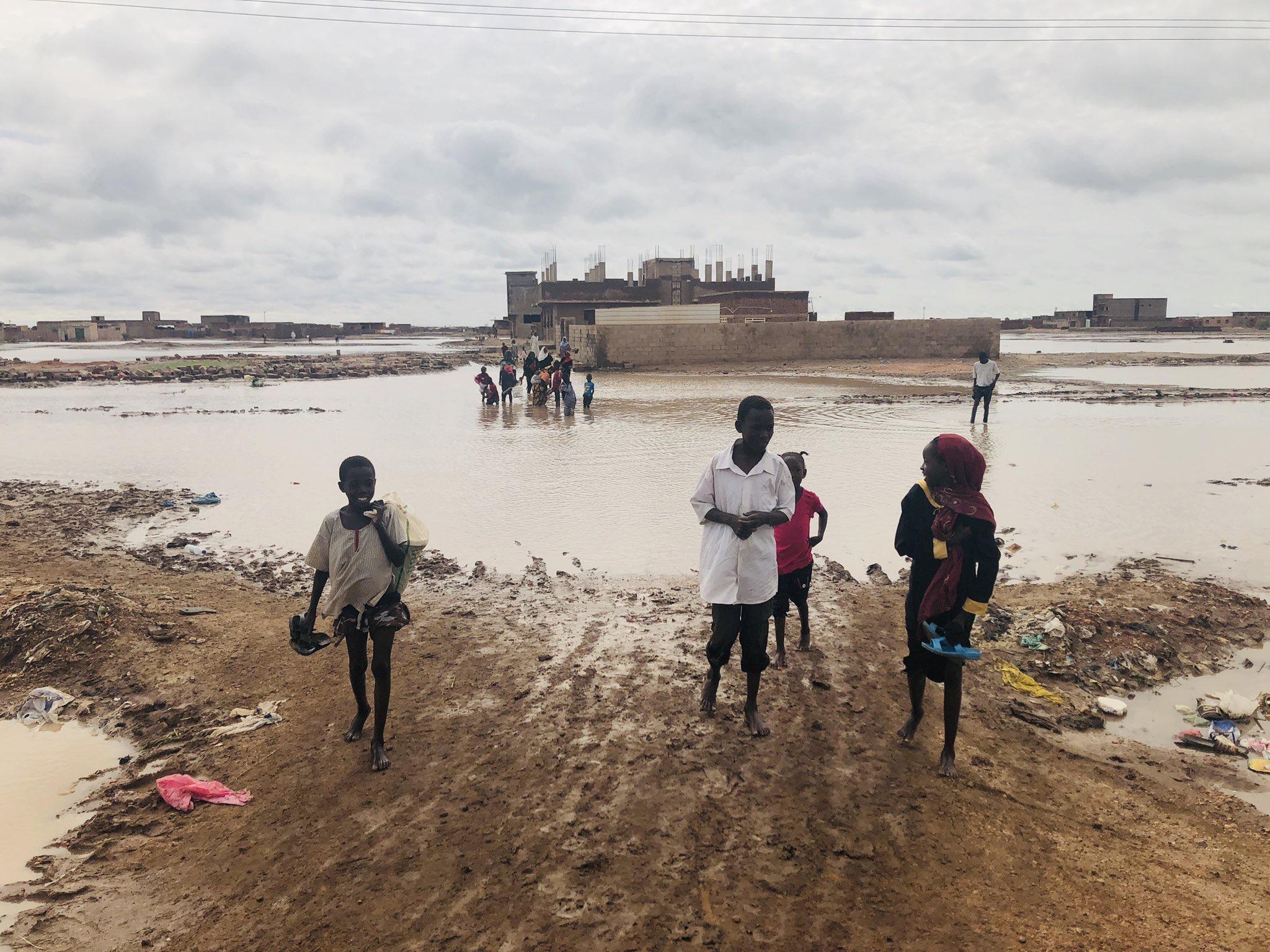 Sudan, Stato D'emergenza Per Stagione Delle Piogge Più Devastante Ultimi 100 Anni