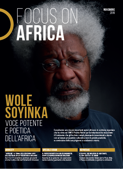 BookCity Closes With Wole Soyinka. On The Cover Of The Special Edition Of Focus On Africa