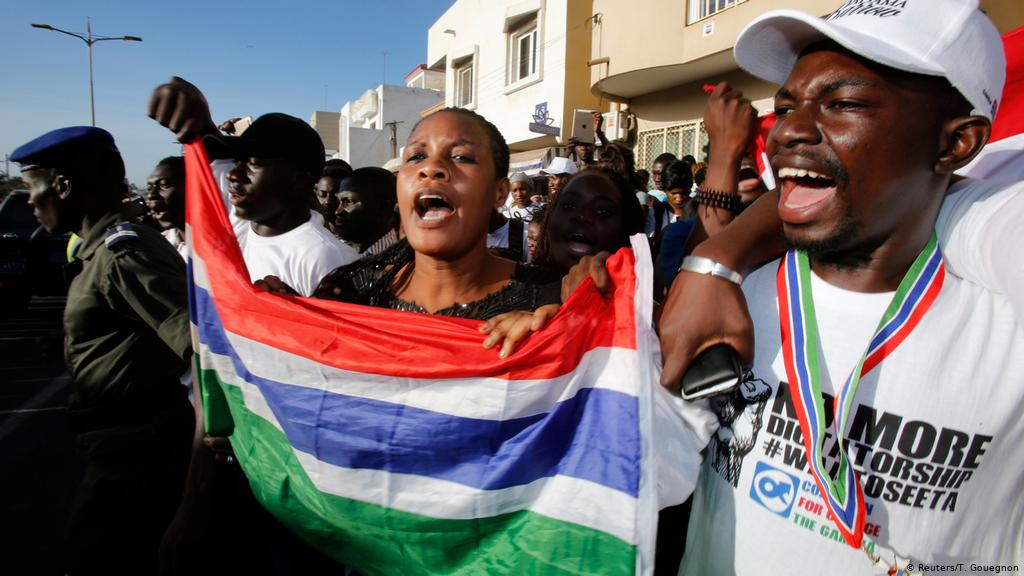 The Gambia, Risk Of Political Crisis. Three Protesters Killed. Government Denial