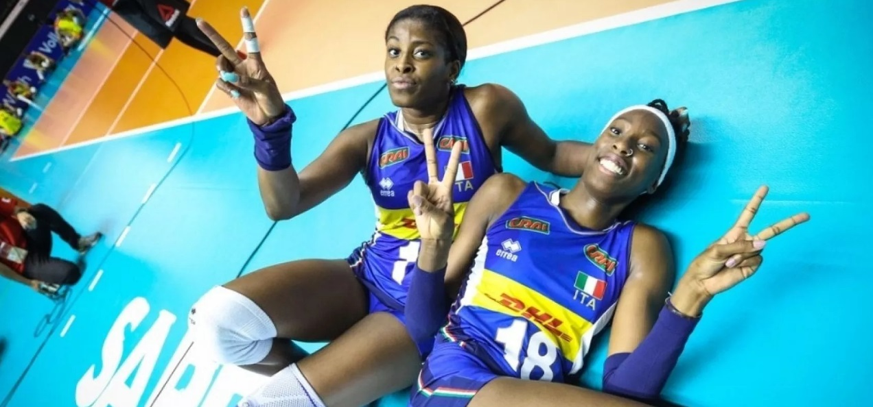 Women's Volleyball Players Paola Egonu, Miriam Sylla And Italy Have A Multiethnic Face That Is Already Here