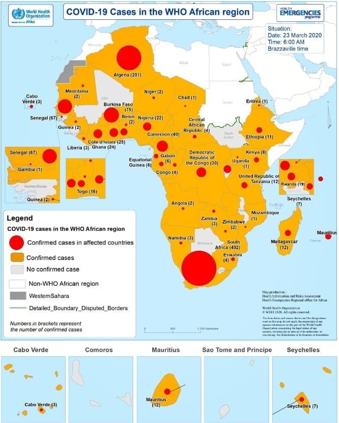 Covid-19, La Progressione Della Pandemia In Africa Nei Grafici Di Oms E Unione Africana