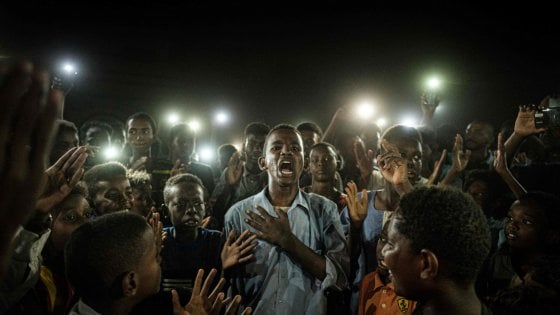 Sudan, Uno Scatto Delle Rivolte Del 2019 Fotografia Dell'anno Per Il World Press Photo