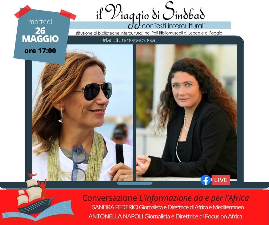 Il Viaggio Di Sinbad Project, Our Editor-in-Chief, Antonella Napoli Talks About Africa