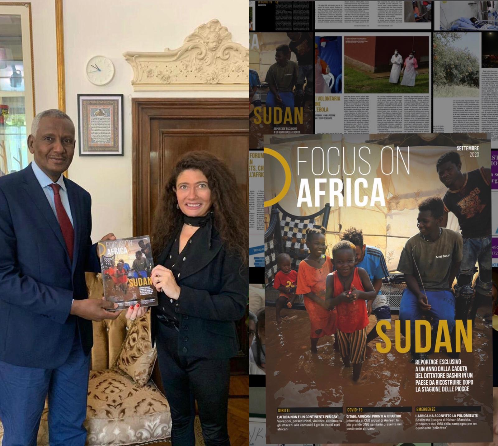 Focus On Africa, Dedicato Al Sudan Il Primo Numero Cartaceo Post Emergenza Covid-19