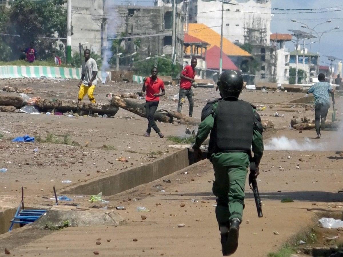 Guinea, Dopo Le Elezioni Le Forze Di Sicurezza Sparano Sui Manifestanti