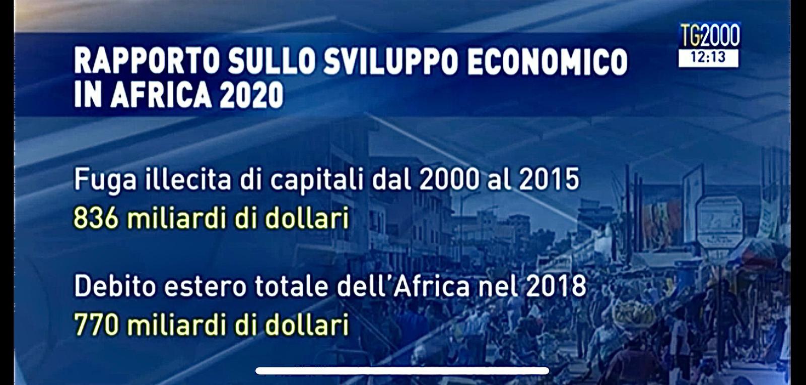 Rapporto Sviluppo 2020, Africa Derubata Ogni Anno Di 89 Miliardi Di Dollari