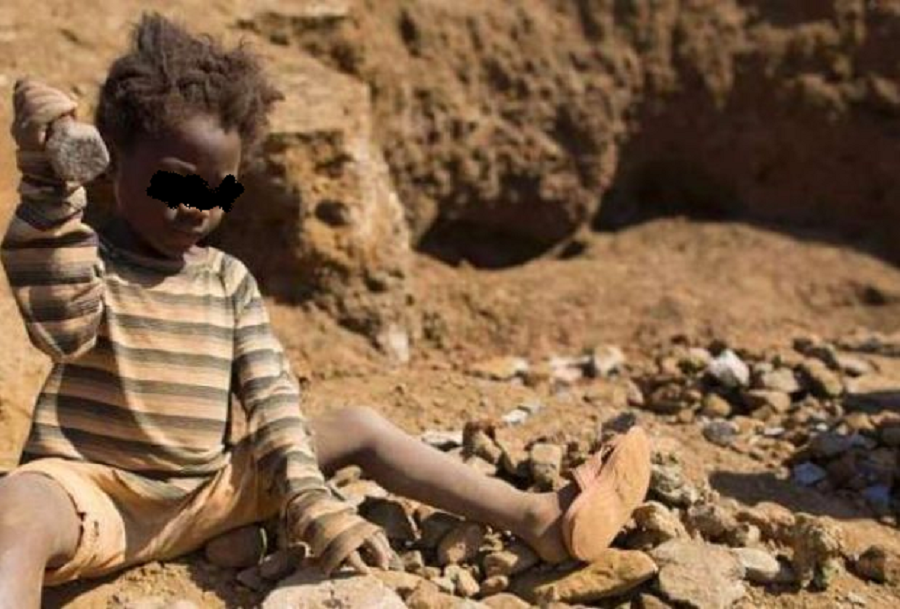 Democratic Republic Of The Congo, Children Slaves In Cobalt Mines