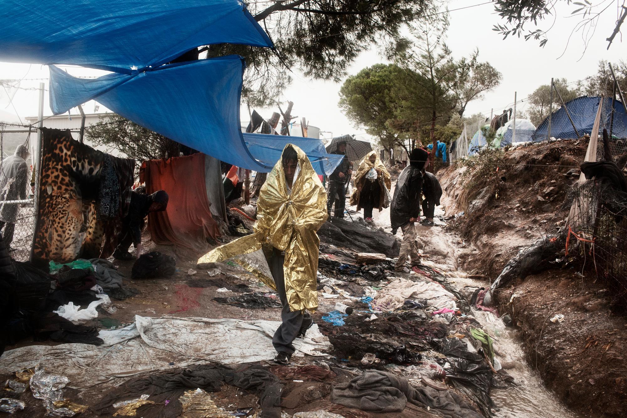 Global Day Migrants, Migliaia Di Persone Intrappolate A Moria In Condizioni Disumane