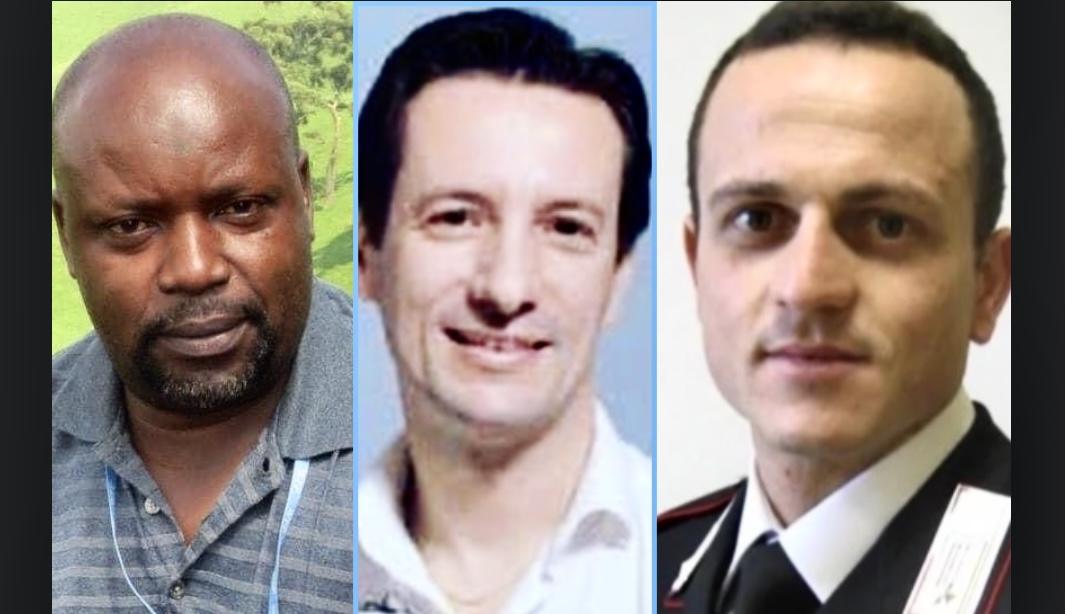 Luca, Vittorio E Mustapha Morti In Congo In Nome Della Pace