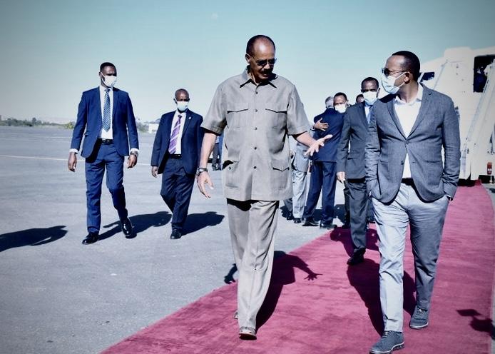 Eritrea, Primo Viaggio Ufficiale Del Premier Etiope Abiy Dall' Inizio Della Guerra Nel Tigray