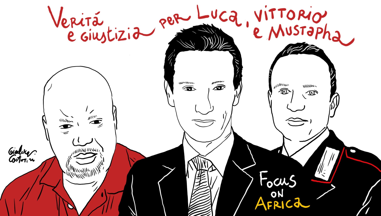 #veritaperlucavittoriomustapha, Una Campagna Che Va Oltre Il Giornalismo