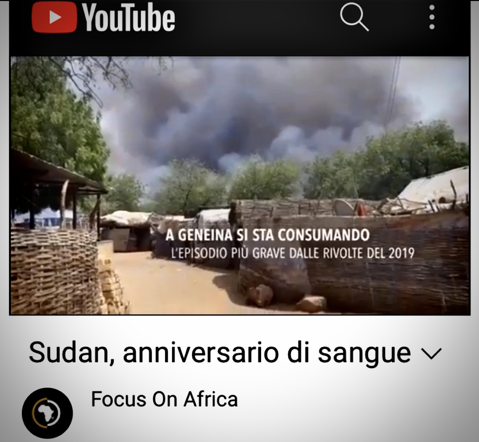 Sudan, Anniversario Di Sangue. Il Video Reportage Di Antonella Napoli